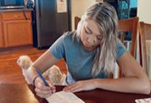 Letter Writing During Online Learning