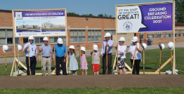 Groundbreaking Celebration to Rightsize the District
