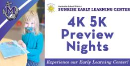 Sunrise Kindergarten Preview Nights