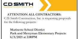 Request For Proposals Now Being Accepted for District's Rightsizing Project