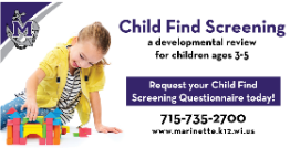 Child Find Screening Available!